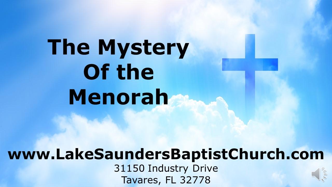 mystery of menorah